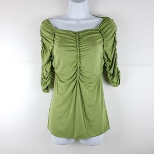 NWT Sophie Max Green Top Size Small Retail $68